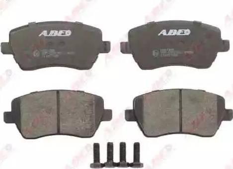 ABE C11077ABE - Kit de plaquettes de frein, frein à disque www.widencarpieces.com