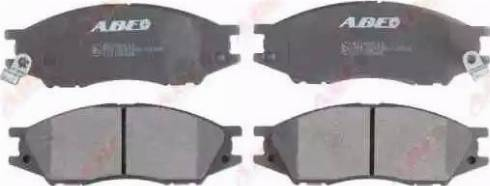 ABE C11100ABE - Kit de plaquettes de frein, frein à disque www.widencarpieces.com