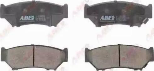 ABE C18009ABE - Kit de plaquettes de frein, frein à disque www.widencarpieces.com