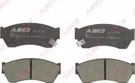 ABE C18005ABE - Kit de plaquettes de frein, frein à disque www.widencarpieces.com