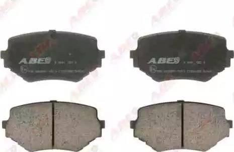 ABE C18001ABE - Kit de plaquettes de frein, frein à disque www.widencarpieces.com