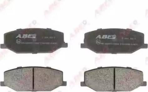 ABE C18003ABE - Kit de plaquettes de frein, frein à disque www.widencarpieces.com