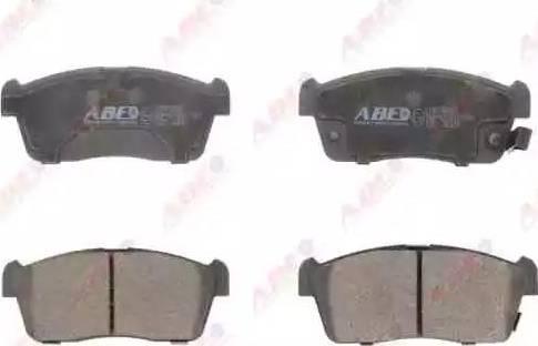 ABE C18016ABE - Kit de plaquettes de frein, frein à disque www.widencarpieces.com
