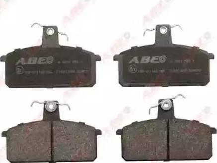 ABE C18013ABE - Kit de plaquettes de frein, frein à disque www.widencarpieces.com