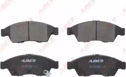 ABE C18017ABE - Kit de plaquettes de frein, frein à disque www.widencarpieces.com