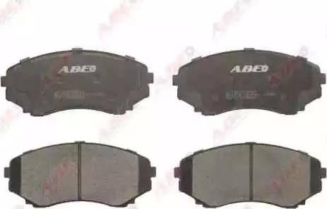 ABE C13049ABE - Kit de plaquettes de frein, frein à disque www.widencarpieces.com