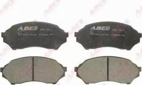 ABE C13045ABE - Kit de plaquettes de frein, frein à disque www.widencarpieces.com