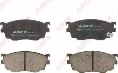 ABE C13046ABE - Kit de plaquettes de frein, frein à disque www.widencarpieces.com