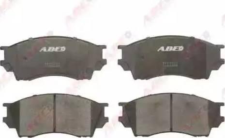 ABE C13040ABE - Kit de plaquettes de frein, frein à disque www.widencarpieces.com