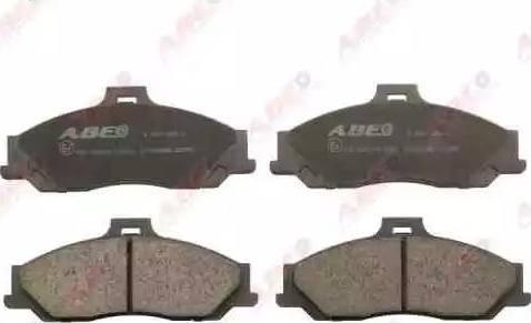 ABE C13048ABE - Kit de plaquettes de frein, frein à disque www.widencarpieces.com