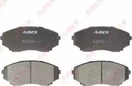 ABE C13042ABE - Kit de plaquettes de frein, frein à disque www.widencarpieces.com