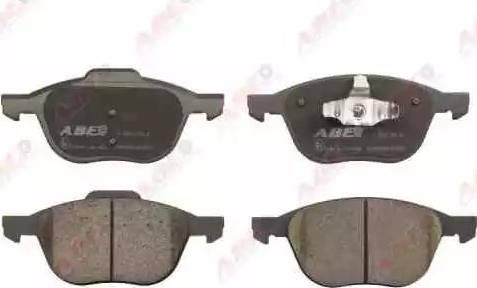 ABE C13055ABE - Kit de plaquettes de frein, frein à disque www.widencarpieces.com