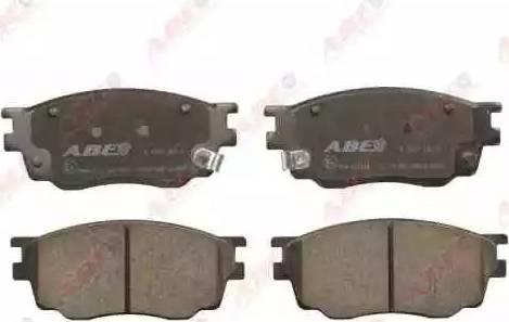 ABE C13051ABE - Kit de plaquettes de frein, frein à disque www.widencarpieces.com