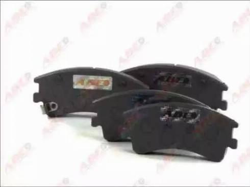 ABE C13052ABE - Kit de plaquettes de frein, frein à disque www.widencarpieces.com