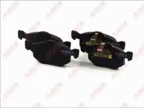 ABE C13057ABE - Kit de plaquettes de frein, frein à disque www.widencarpieces.com