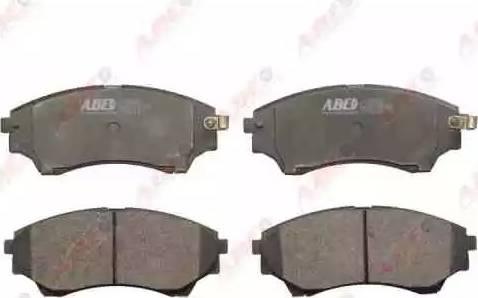 ABE C13064ABE - Kit de plaquettes de frein, frein à disque www.widencarpieces.com