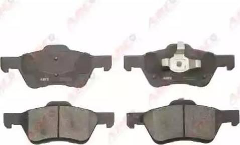 ABE C13066ABE - Kit de plaquettes de frein, frein à disque www.widencarpieces.com