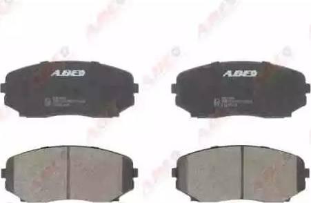 ABE C13061ABE - Kit de plaquettes de frein, frein à disque www.widencarpieces.com