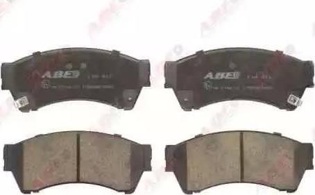 ABE C13062ABE - Kit de plaquettes de frein, frein à disque www.widencarpieces.com