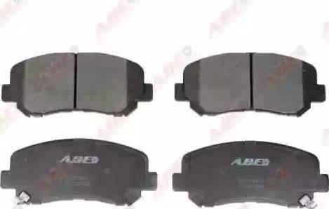 ABE C13067ABE - Kit de plaquettes de frein, frein à disque www.widencarpieces.com