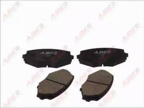 ABE C13002ABE - Kit de plaquettes de frein, frein à disque www.widencarpieces.com