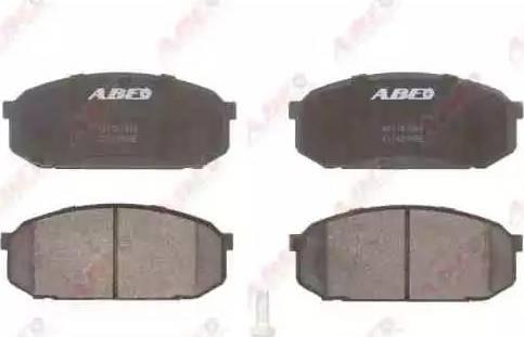 ABE C13039ABE - Kit de plaquettes de frein, frein à disque www.widencarpieces.com