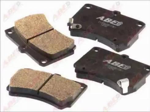 ABE C13036ABE - Kit de plaquettes de frein, frein à disque www.widencarpieces.com