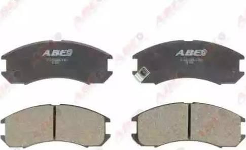 ABE C13031ABE - Kit de plaquettes de frein, frein à disque www.widencarpieces.com