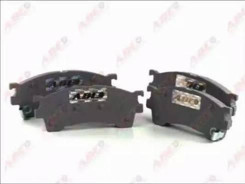 ABE C13038ABE - Kit de plaquettes de frein, frein à disque www.widencarpieces.com