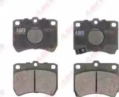 ABE C13032ABE - Kit de plaquettes de frein, frein à disque www.widencarpieces.com