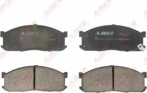 ABE C13025ABE - Kit de plaquettes de frein, frein à disque www.widencarpieces.com