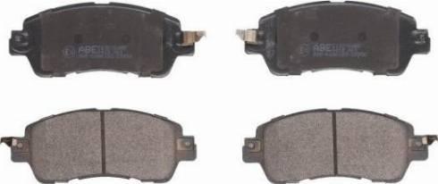 ABE C13070ABE - Kit de plaquettes de frein, frein à disque www.widencarpieces.com