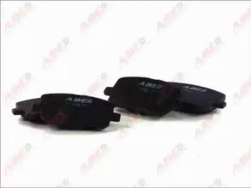ABE C12099ABE - Kit de plaquettes de frein, frein à disque www.widencarpieces.com
