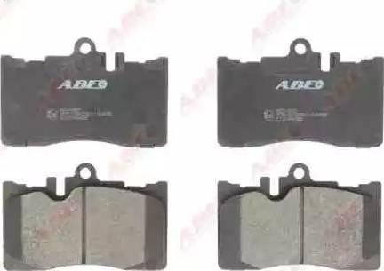 ABE C12098ABE - Kit de plaquettes de frein, frein à disque www.widencarpieces.com