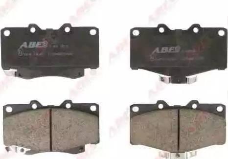 ABE C12054ABE - Kit de plaquettes de frein, frein à disque www.widencarpieces.com