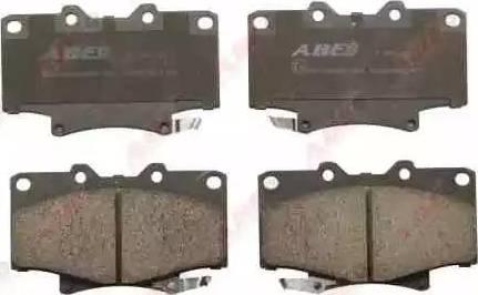 ABE C12055ABE - Kit de plaquettes de frein, frein à disque www.widencarpieces.com