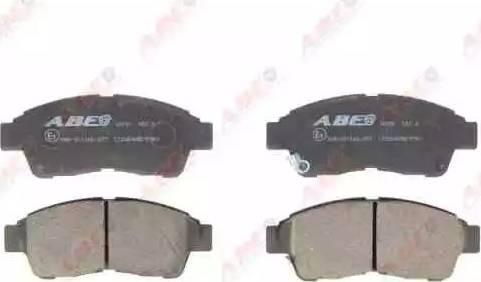 ABE C12064ABE - Kit de plaquettes de frein, frein à disque www.widencarpieces.com