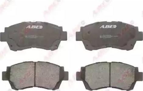 ABE C12060ABE - Kit de plaquettes de frein, frein à disque www.widencarpieces.com