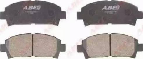 ABE C12063ABE - Kit de plaquettes de frein, frein à disque www.widencarpieces.com