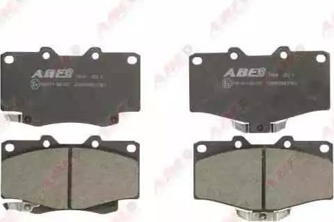 ABE C12089ABE - Kit de plaquettes de frein, frein à disque www.widencarpieces.com