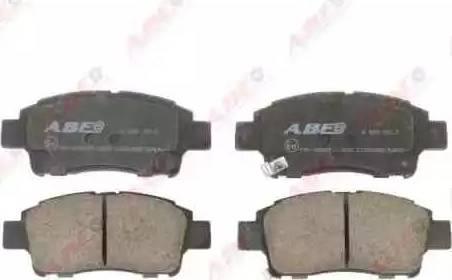 ABE C12084ABE - Kit de plaquettes de frein, frein à disque www.widencarpieces.com