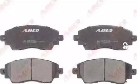 ABE C12085ABE - Kit de plaquettes de frein, frein à disque www.widencarpieces.com