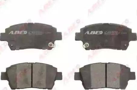 ABE C12086ABE - Kit de plaquettes de frein, frein à disque www.widencarpieces.com