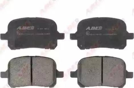 ABE C12083ABE - Kit de plaquettes de frein, frein à disque www.widencarpieces.com