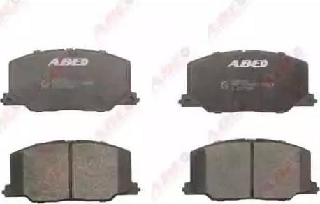 ABE C12037ABE - Kit de plaquettes de frein, frein à disque www.widencarpieces.com