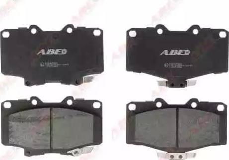 ABE C12071ABE - Kit de plaquettes de frein, frein à disque www.widencarpieces.com