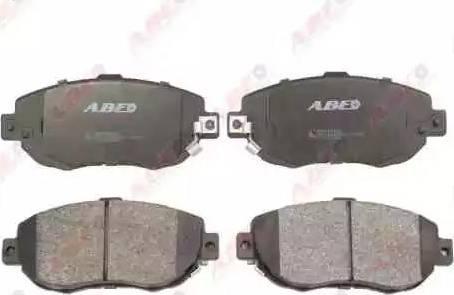 ABE C12072ABE - Kit de plaquettes de frein, frein à disque www.widencarpieces.com
