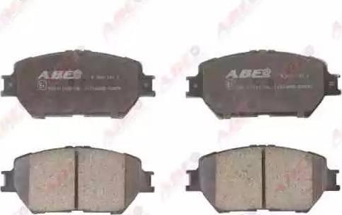 ABE C12104ABE - Kit de plaquettes de frein, frein à disque www.widencarpieces.com