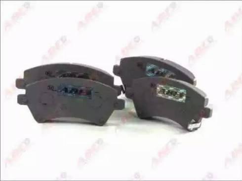 ABE C12101ABE - Kit de plaquettes de frein, frein à disque www.widencarpieces.com