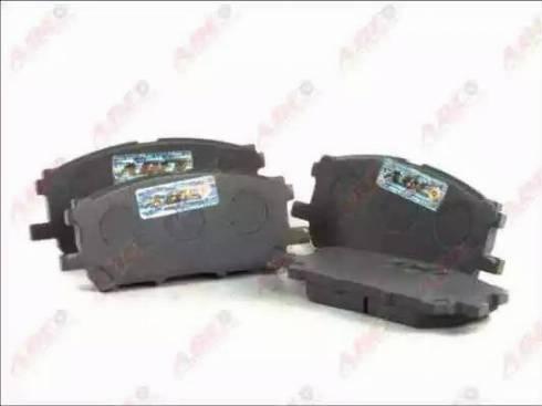 ABE C12108ABE - Kit de plaquettes de frein, frein à disque www.widencarpieces.com